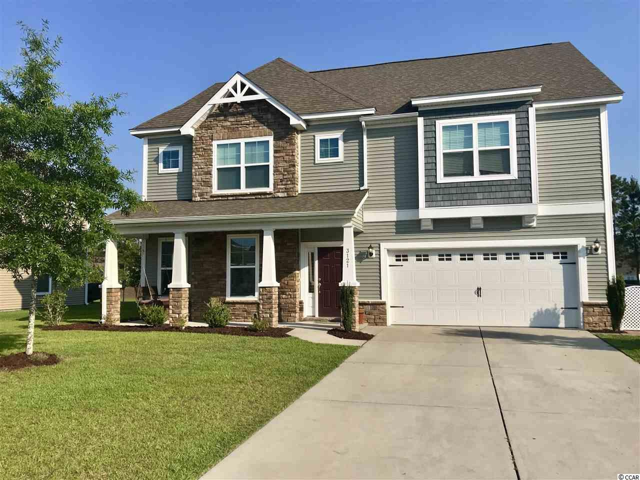 Detached MLS:1905162   3121 Bramble Glen Dr. Myrtle Beach SC