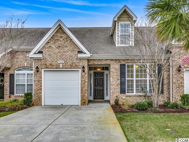 Townhouse MLS:1905302 Tuscany - Carolina Forest Area -  240 Viareggio Rd. Myrtle Beach SC