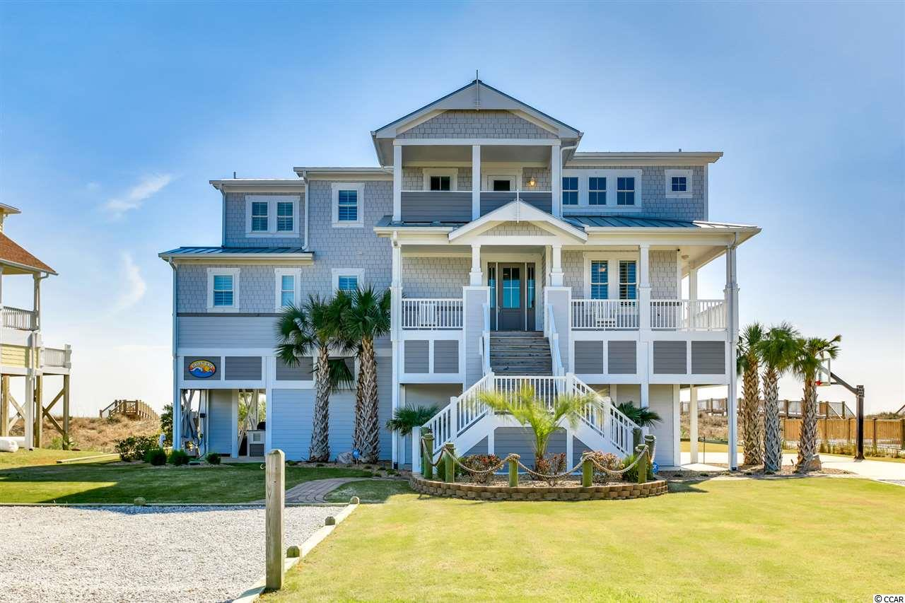 Detached MLS:1907312   1341 W Ocean Blvd. Holden Beach NC