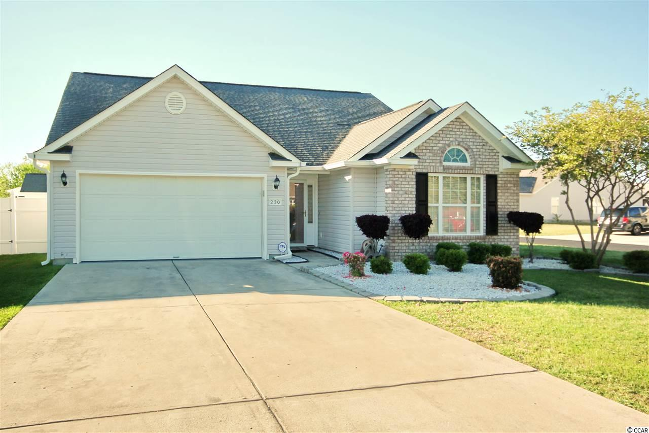 Detached MLS:1908300   220 Bonnie Bridge Circle Myrtle Beach SC