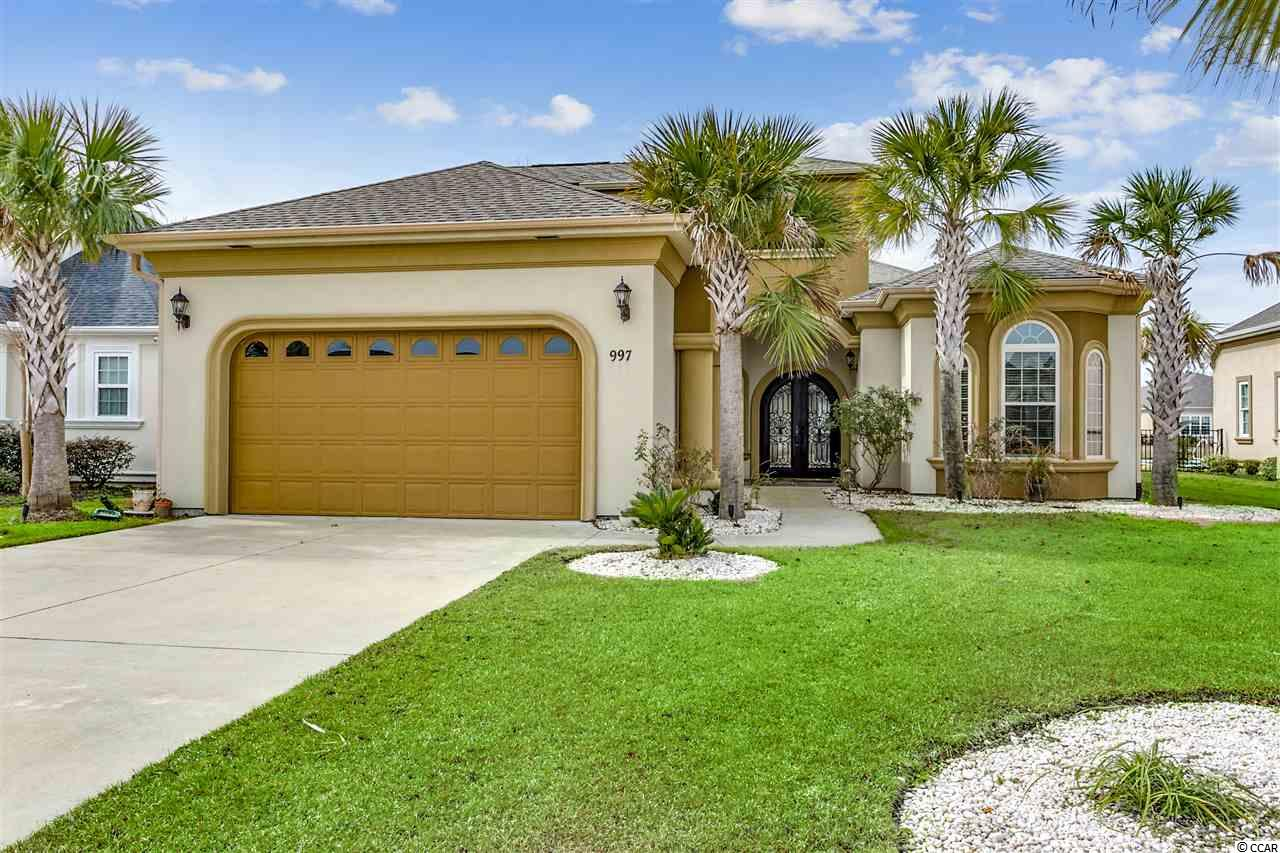 Detached MLS:1908693   997 Bluffs View Dr. Myrtle Beach SC