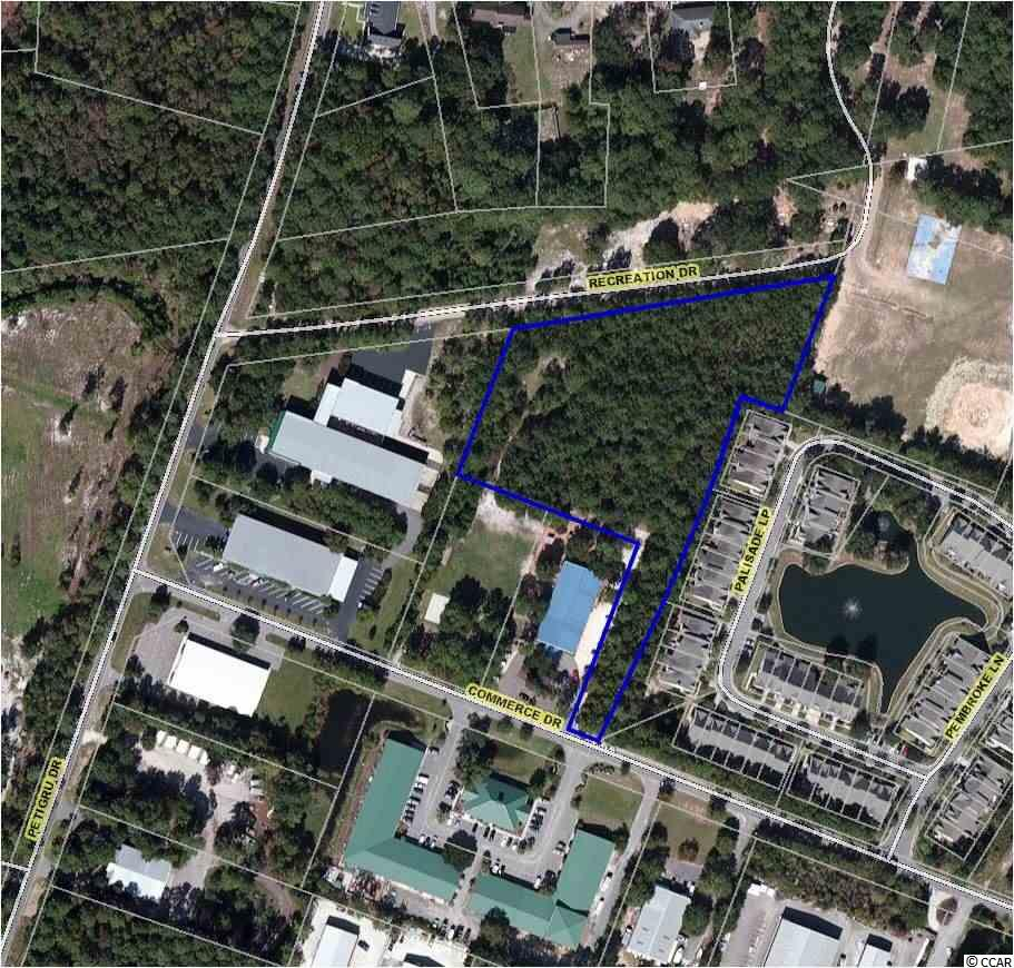 3.3 Acres Commerce Ln., Pawleys Island in Georgetown County, SC 29585 Home for Sale