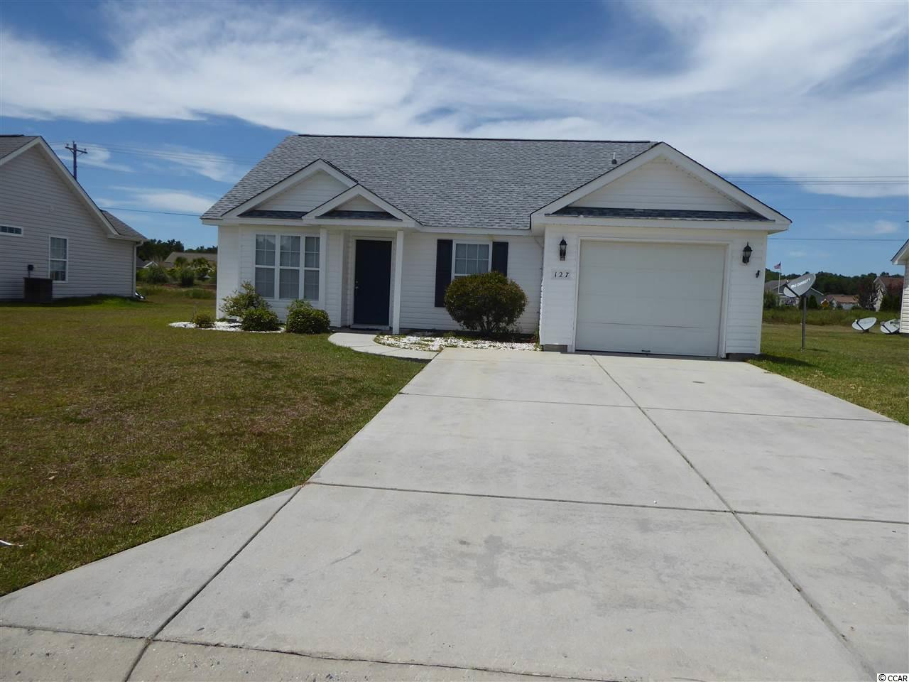 Detached MLS:1912256   127 Bonnie Bridge Circle Myrtle Beach SC