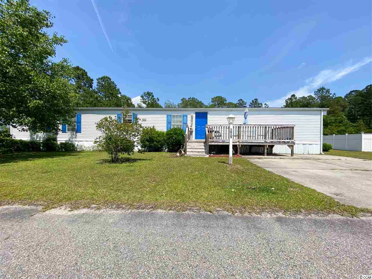 Manufactured Leased Land MLS:2009393   1012 Conway Plantation Dr. Conway SC