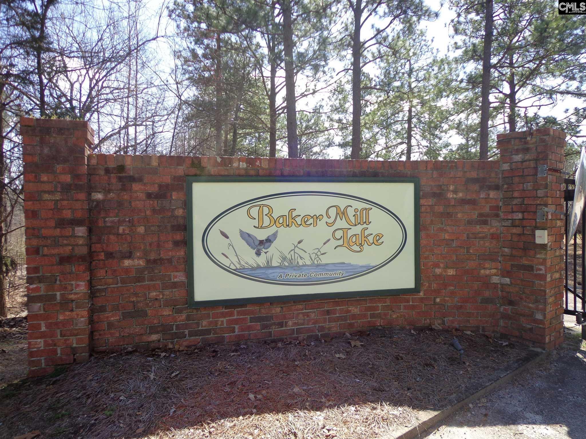 Baker Mill Lake #16 Gaston, SC 29053