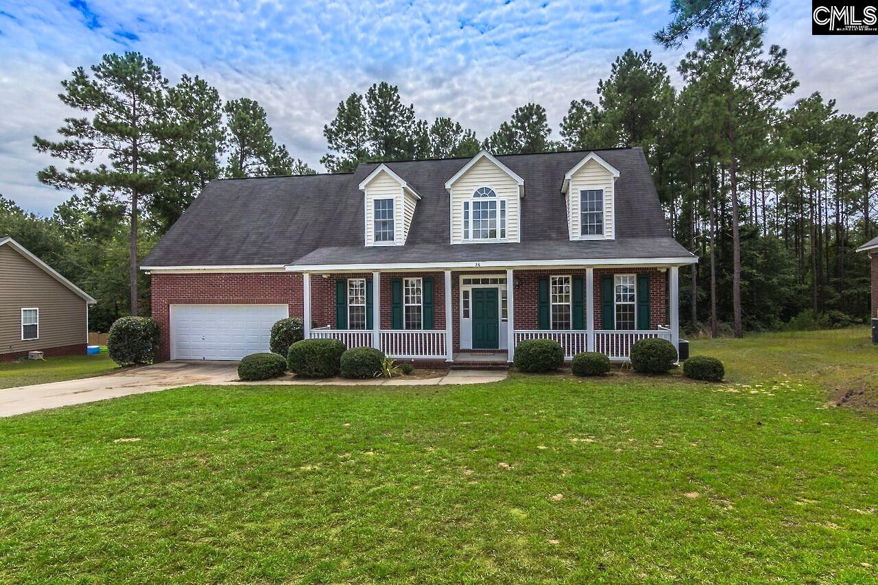 Open House Sunday 10/1/17 2-4 PM. This one has a lot to offer at an incredible price. The southern style home sits on over 1 acre in a cul-de-sac with a wooded backyard. The large front porch greets you before entering a charming foyer. There are formals and a comfortable family room which opens to the large eat in kitchen. Beautiful stained cabinets and plenty of natural light make this kitchen perfect for entertaining. There's also a screened in porch off of the family room to enjoy the wooded view. A luxurious master suite is on the main floor. Upstairs are 2 bedrooms and a bathroom, with an additional large bonus room or fourth bedroom suite above the garage. This room above the garage has a full bathroom and access to the massive walk in attic storage area.