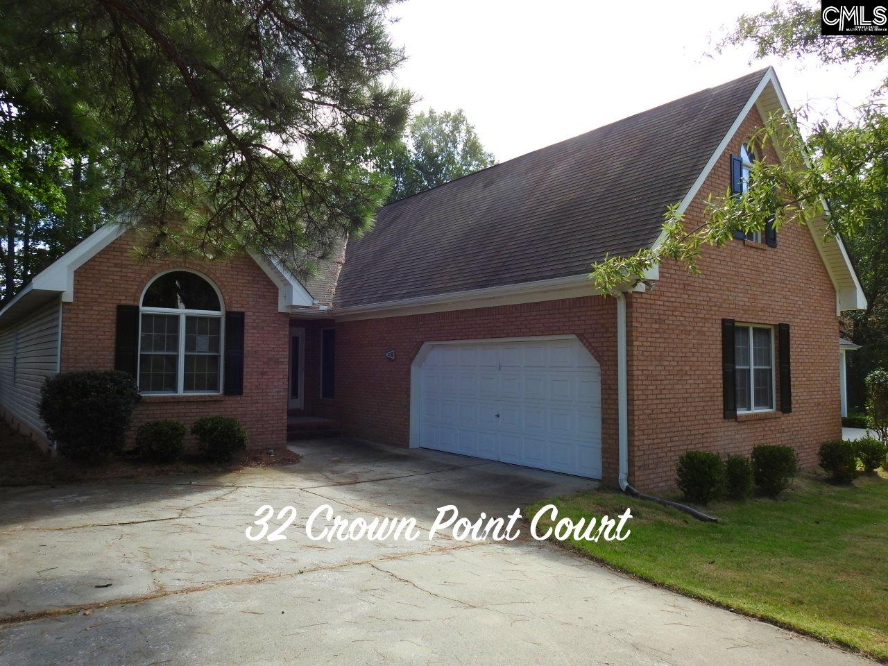 32  Crown Point Irmo, SC 29063