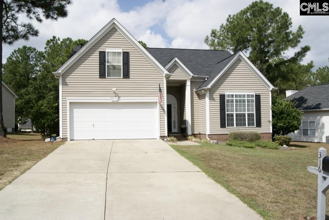 316  Coulter Pine Ln. Columbia, SC 29229