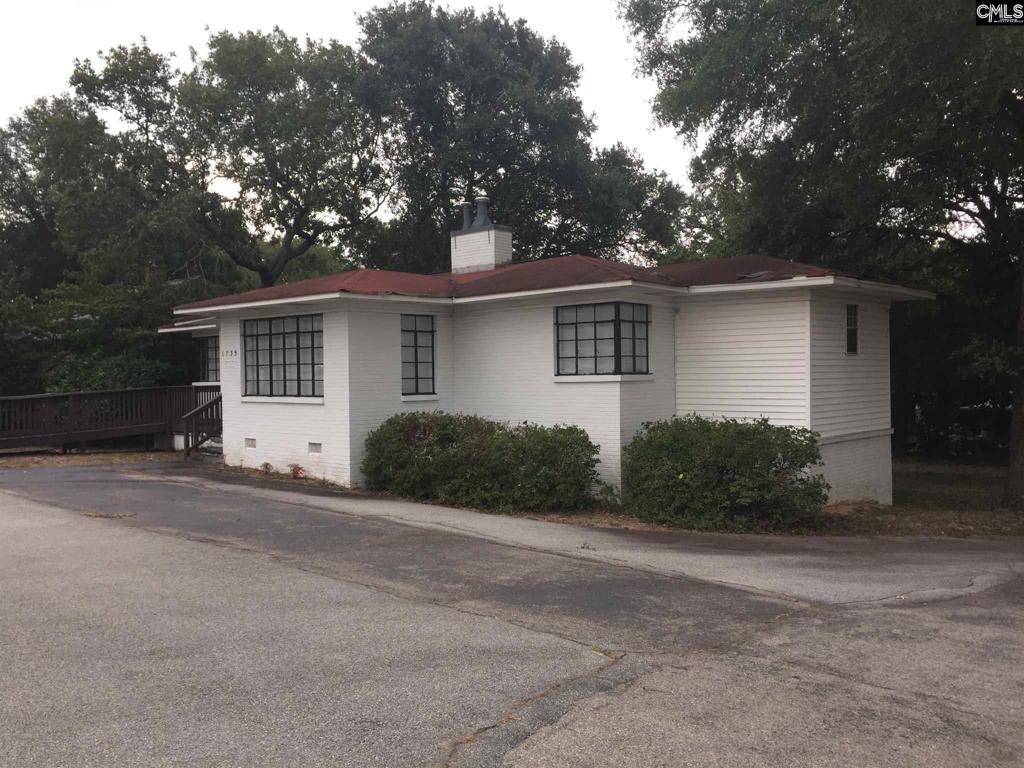 Awesome commercial property minutes to downtown Columbia and Vista.  Property was formerly a law office, and is set up for 2-3 offices and break room/storage room.  Owner motivated.