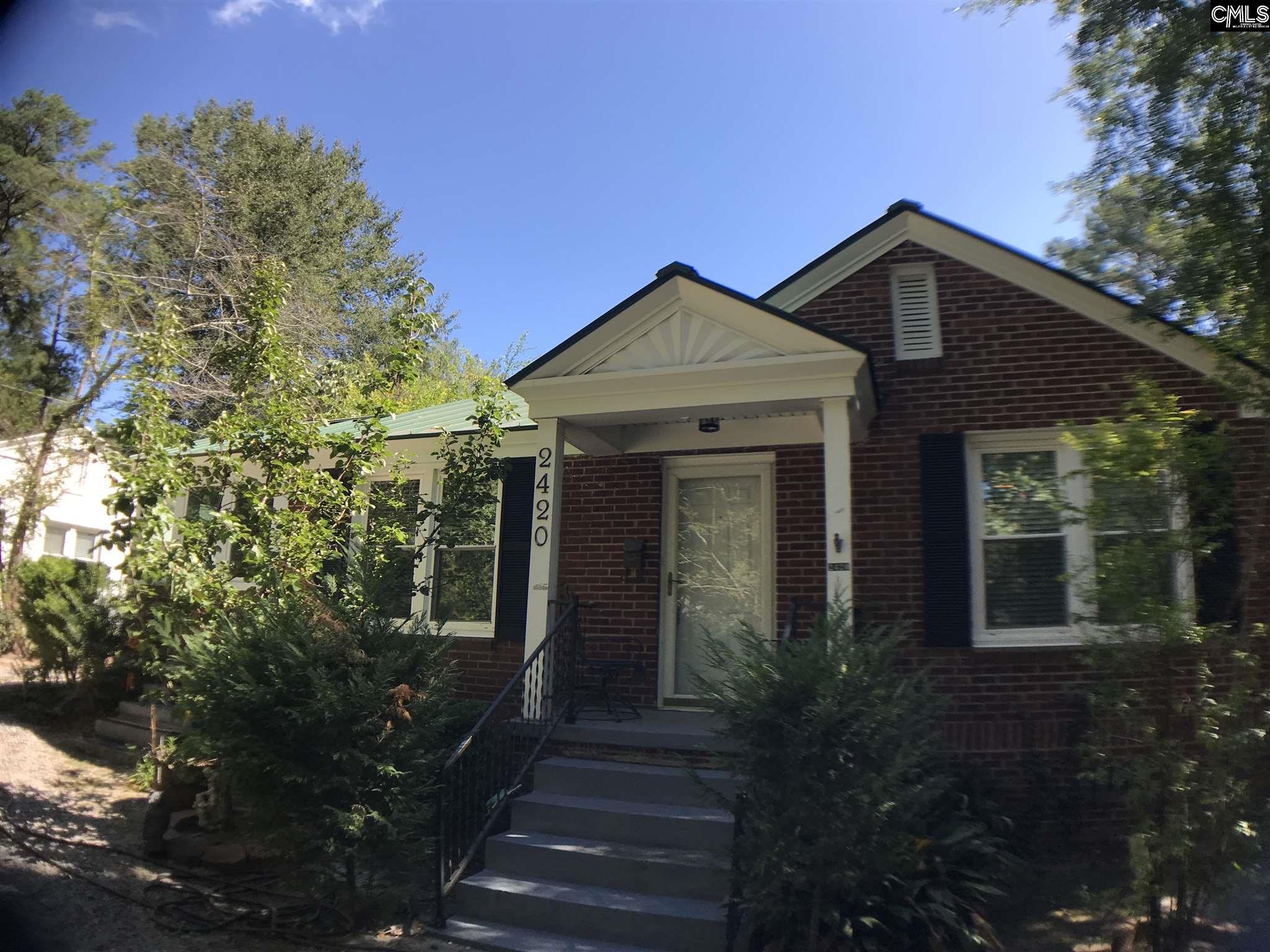 2420  Glenwood Columbia, SC 29204