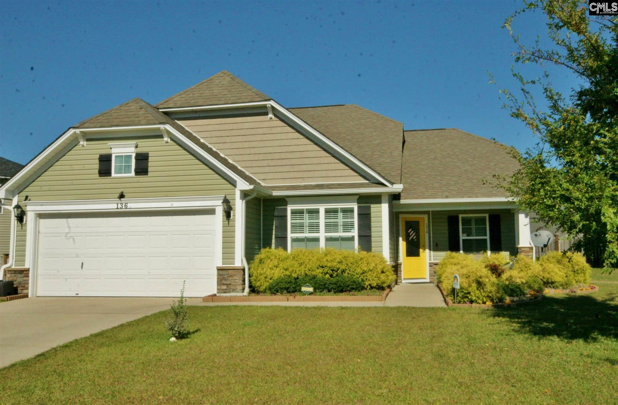 136  Broad Oak Lexington, SC 29072