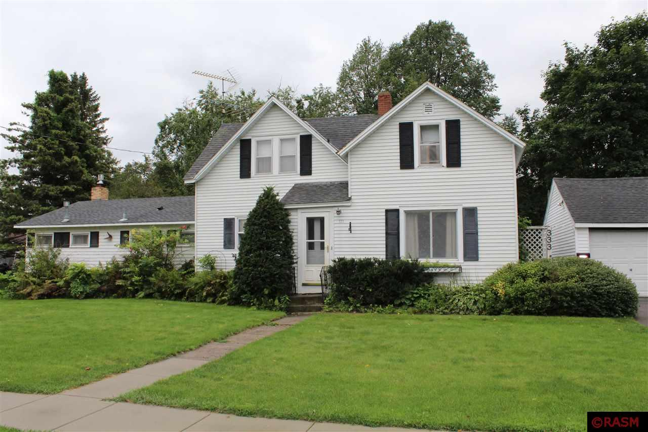 This is an excellent opportunity to purchase a centrally located 3 bedroom 2 bath home with a very private yard.  The yard is perfect for the person who wants to have a large garden. Shed is included. The double detached garage would be a perfect