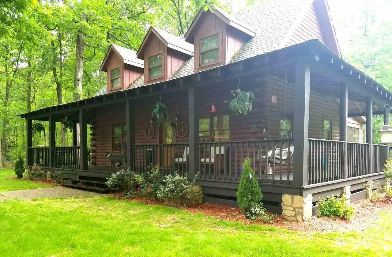 3 Bedroom 2.5 Bath Log Cabin in Bowling Green, Kentucky ...