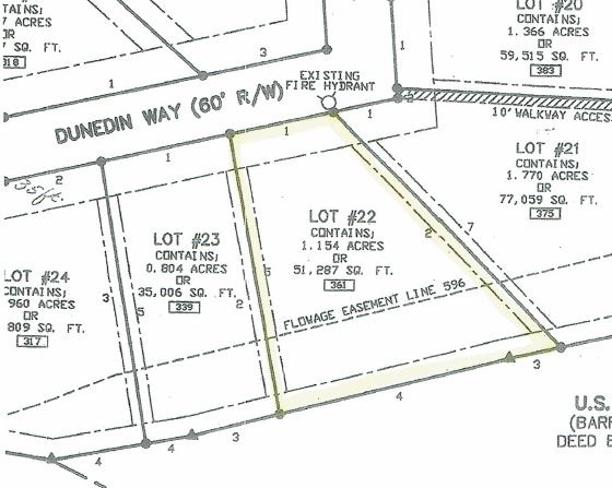 Lot 22 Dunedin Way Highlander Farms Subdivision