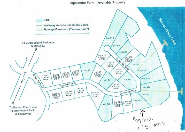 Lot 22 Dunedin Way Highlander Farms Subdivision