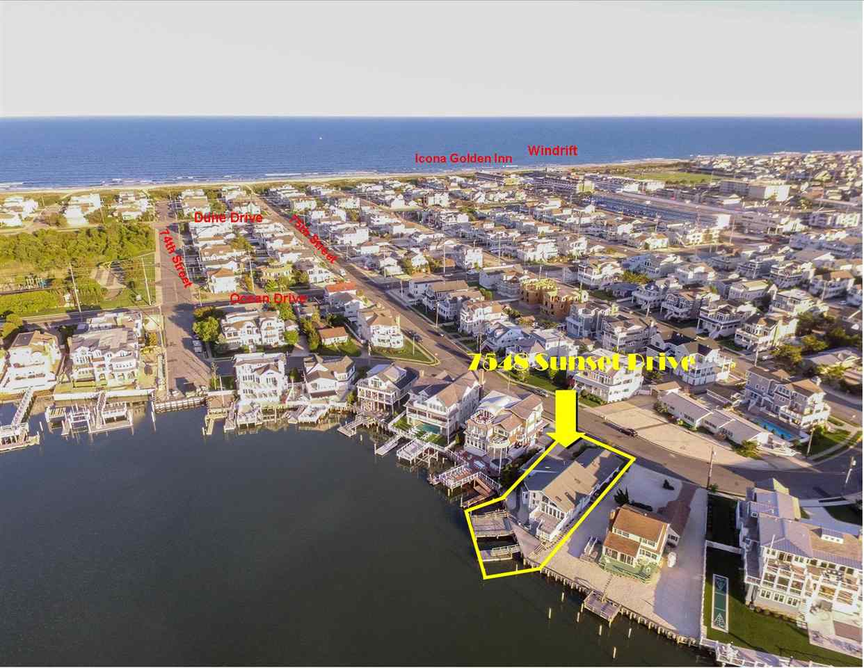 7548 Sunset Drive, Avalon, NJ 08202