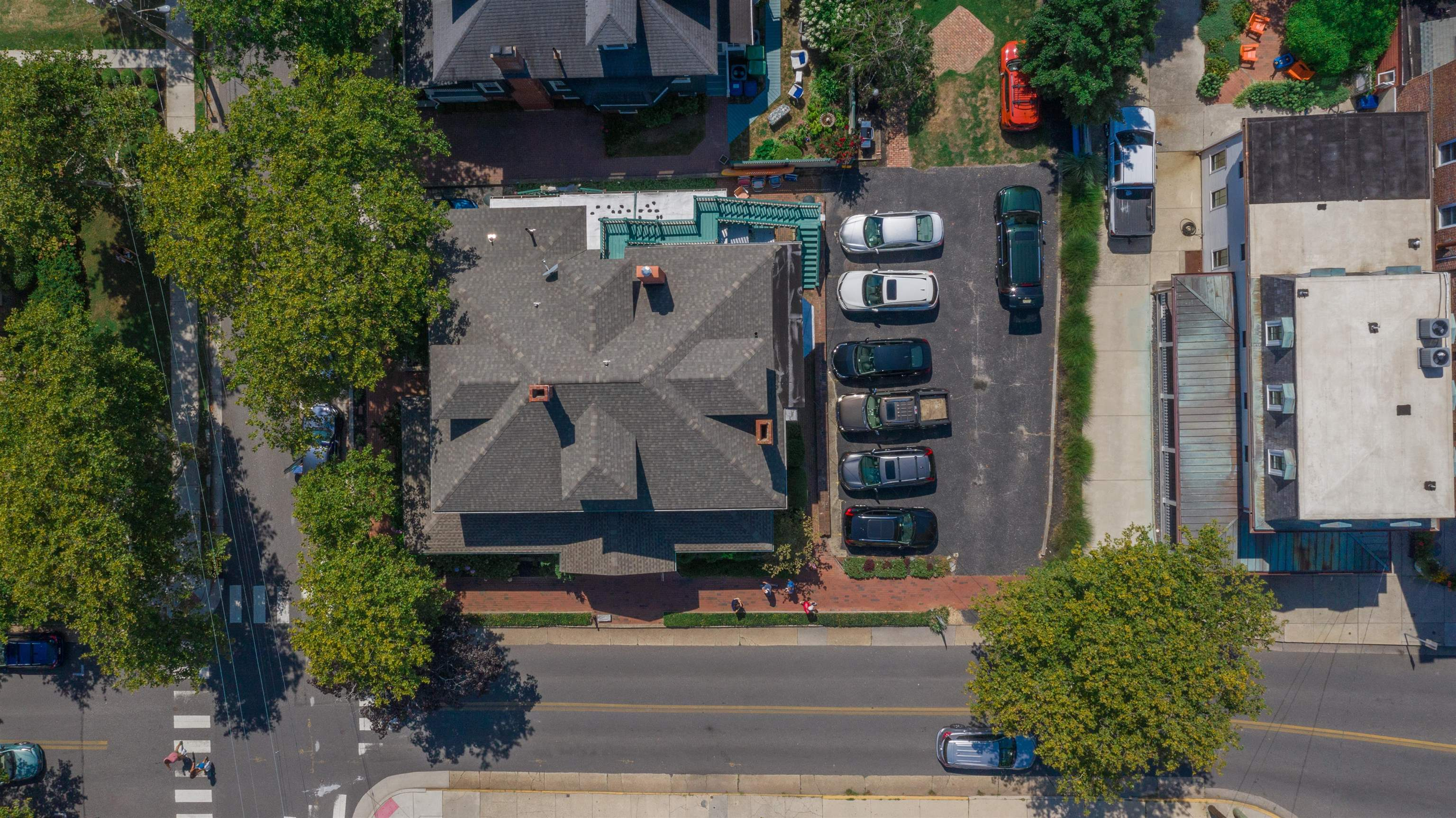 """This is an undeveloped vacant lot in the R-S Zone just steps to both the Washington Street Mall and beaches of Cape May.  The property is currently used as a parking lot for the Captain Mey's Inn with 8 spots and an outside entertainment area. The lot is being offered """"AS IS"""" and interested buyers should review any specific development plans with legal counsel."""