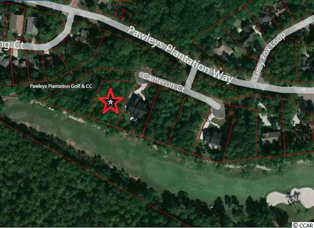 Looking for the perfect homesite?   A brand new lot selection in Pawleys Plantation...  Beautifully wooded perfect setting homesite on quiet cul-de-sac; overlooks 8th fairway,  premier location.