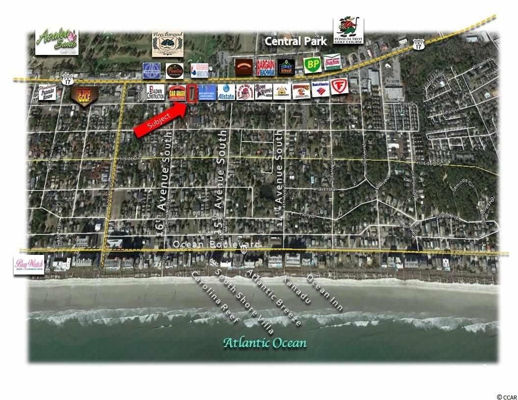 Offered for LEASE is this prime development lot on U.S. Highway 17 in North Myrtle Beach, SC.    LOCATIONS: East Side of U.S. Highway 17 City of North Myrtle Beach, Crescent Beach Section, SC.  REAL ESTATE: Site Consist of  Approximately 0.40 Acres, (17,424 Square Feet) Rectangular Shaped Lot With Excellent Visibility and Access Approximately 85' Road Frontage On U.S. Highway 17 Approximately 85' Road Frontage on Madison Drive Approximately 210' of Depth Curb cut onto Highway 17 Identified as PIN #35711040002, County of Horry, SC. Average Daily Traffic Count: 47,400  Utilities: City Water, Sewer, Electricity, Telephone
