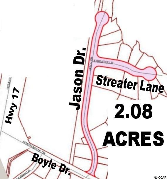 2.08 acre Roadway for sale is Jason Drive and Streater Lane. Property owners on the street should have existing deeded easements to allow ingress and egress and should not be affected by this sale. Road buyer reserves the right to prohibit or allow further easements intended to facilitate future use of the roadway for both public and private projects and improvements. Listing agent holds an ownership interest. Conveyance is via special warranty deed. Buyer to verify measurements, amenities, zoning, allowable uses and 2017 Taxes.