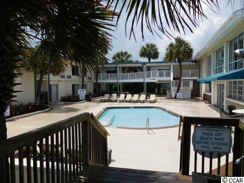 Ground floor, corner unit allows for you to enter thru the front door, and exit to the beach thru the sliding glass door on the beachside of the unit. Tastefully furnished. The corner units are bigger than the regular rectangular units. Relax beside one of the two oceanfront pools. Dine on-site overlooking the pools and beach at our areas only oceanfront restaurant on-site. Square footage is approximate and not guaranteed. The Buyer is responsible for verification.