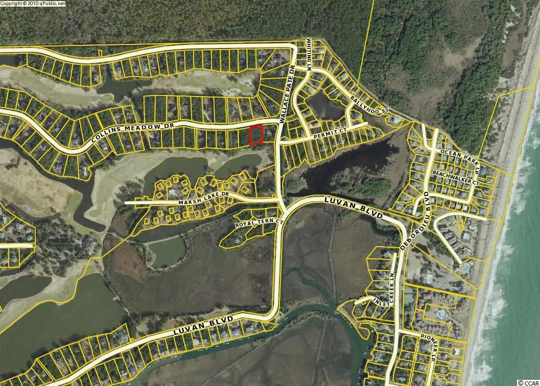 Beautiful homesite overlooking the 8th fairway on the private DeBordieu golf course designed by Pete Dye.  This lot is considerably wider than the average golf course lot with 136 ft. of road frontage and has excellent lake views in the back (and your view would not be hindered by other homes on the back side!).  Approximately 0.5 miles from the beach and 0.5 miles from the clubhouse, this spot is situated perfectly for you to enjoy everything within the gates of DeBordieu.  The onsite private DeBordieu Club offers amenities such as golf, tennis, a boat ramp and multiple dining options to members and guests. Natural amenities include miles of beach and tidal creeks, an on-site nature preserve with walking trails and bike paths and a delightful year round climate.