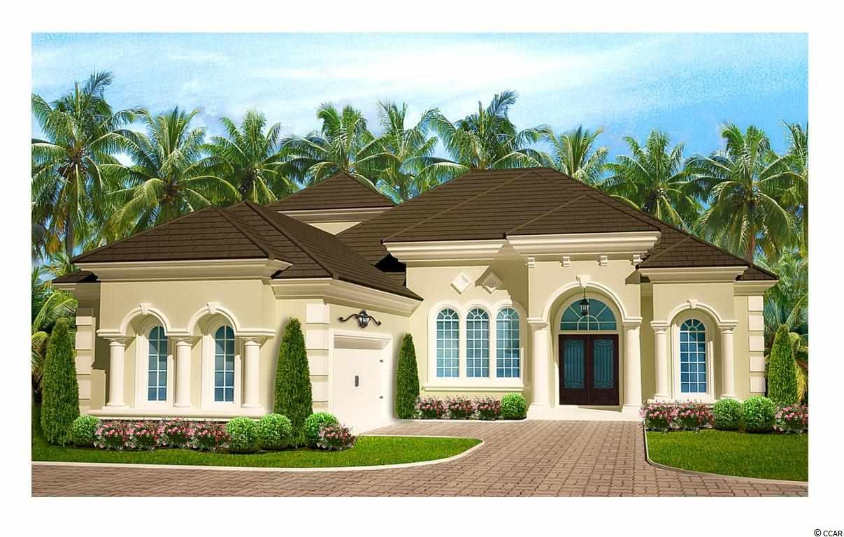 BEAUTIFUL MEDITERRANEAN STYLE 3 BR, 2 BA HOME/LOT TO BE BUILT IN WILD WING PLANTATION.  THIS IS A CORNER LOT ON THE GOLF COURSE AND LAKE GIVING YOU MUCH MORE PRIVACY. MASTER SUITE HAS WALK-IN CLOSET, SEPARATE CUSTOM TILED SHOWER AND GARDEN TUB. HARDWOOD FLOORS AND GRANITE COUNTERTOPS. BEAUTIFUL LANDSCAPING WITH IRRIGATION AND AN 8-YEAR EXTENDED HOME WARRANTY.  THIS COMMUNITY FEATURES 2 GOLF COURSES WITH CLUBHOUSE, POOL COMPLEX, SPORTS  COURTS, PLAYGROUND, FITNESS CENTER, BOAT SLIPS, ON-SITE RESTAURANT, AND MORE. GREAT PRICE FOR A NEW HOME!!!!