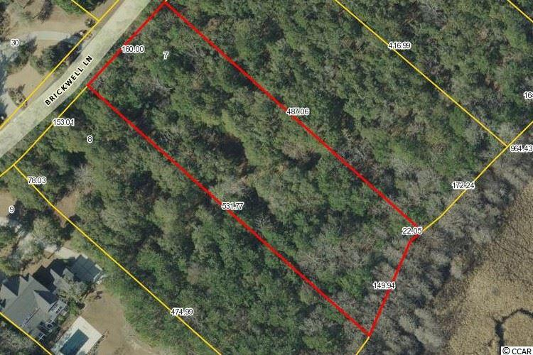 1.85 Acres with beautiful hardwoods, excellent elevation and premium location in Island Estates.  This beautiful community offers a much quieter and more exclusive lifestyle than almost anywhere else along the Grand Strand. Property backs to Nature Preserve. Island Estates has 33 private homesites.  Owners have private beach access at Litchfield by the Sea, community pool, tennis courts and more.  The Reserve offers a private marina with 250 boat slips, including 40 wet slips, fuel and immediate access to the Intracoastal Waterway.  Situated in a well-protected deep-water cove, the marina offers upscale amenities.  The Reserve Golf Course is a private golf sanctuary complimented by best-in-class service, fine dining and a renowned practice facility. Enjoy a nicely-paced round of golf on a Greg Norman course that ranks #5 among the nearly one-hundred courses along the Grand Strand. Beach access, marina, golf course, grocery, restaurants etc are all within a golf cart ride.  Pawleys Island offers miles of pristine, white sandy beaches and is located just 20 miles south of Myrtle Beach.