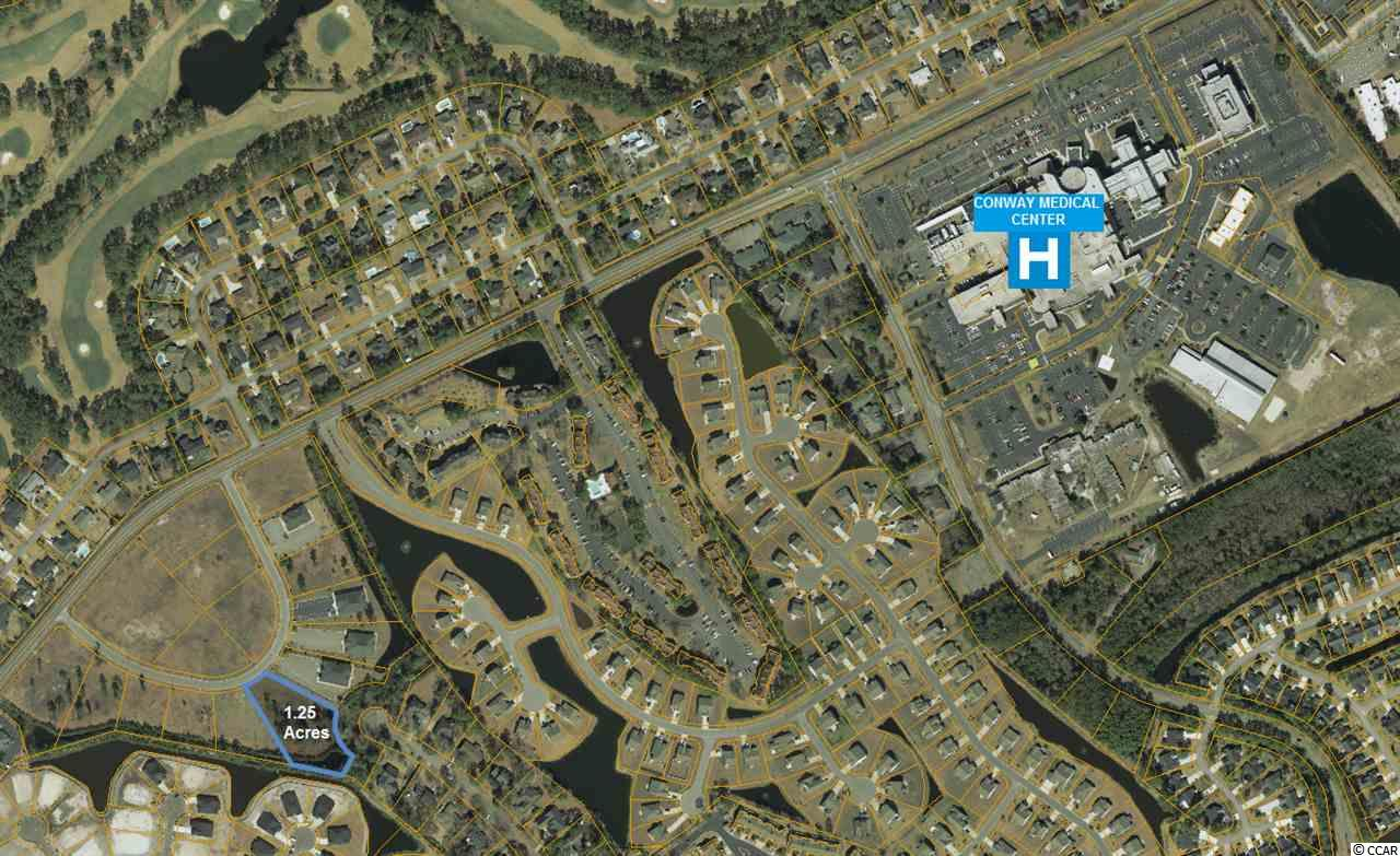 """1.25 Acre Lot.  Great Location near the Conway Hospital and Coastal Carolina University. Great for a Medical/Professional office. Located in """"Professional Park""""."""