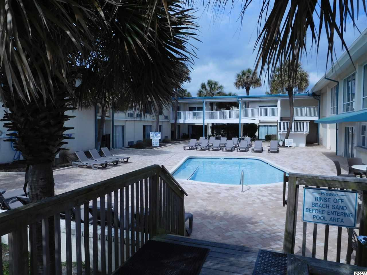 A Best Buy for an oceanview condo which overlooks both the pool and beach. Needs some TLC. The Inn features two oceanfront pools and two on-site restaurants with formal dining an a casual beach bar and restaurant. No need to leave the beach area. Close to Brookgreen Gardens and historic Georgetown, SC's third oldest city. The square footage is approximate and not guaranteed. The Buyer is responsible for verification.