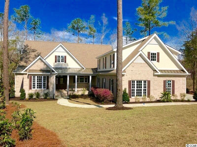 NEW CONSTRUCTION HOME COMPLETED! NEVER OCCUPIED. COLLINS CREEK IS A PRINCE CREEK CUSTOM HOME, PRIVATE GATED COMMUNITY. THIS 5 BEDROOM/4.5 BATH HOME HAS MANY UPGRADES. THE LOT IS 2.34 ACRES WITH A PRIVATE BOAT DOCK ON DEEP WATER AND HAS QUICK ACCESS TO THE WACCAMAW RIVER AND THE INTRA-COASTAL WATERWAY. THIS HOME IS INCREDIBLY SPACIOUS WITH 3700 HEATED SF. THE THREE CAR GARAGE WILL ACCOMMODATE MANY TOYS OR VEHICLES. THE OVERSIZED MASTER WALK-IN CLOSET AND SHOWER IN THE MASTER BATH IS AMAZING.