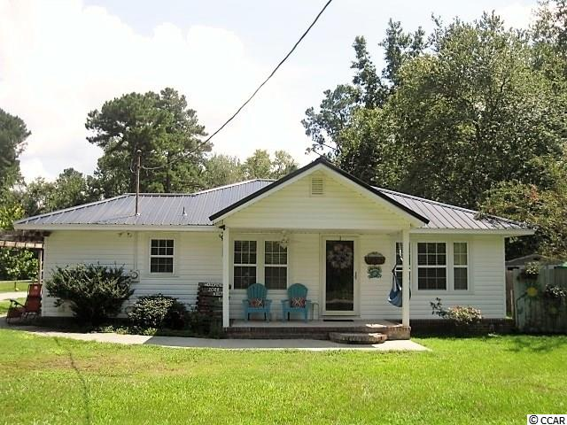 Ideally located near Coastal Carolina University, Horry Georgetown Technical College, Conway Hospital, the City of Conway and to major roads. The house has been completely renovated from top(metal roof) to bottom and from side to side. Located on a tree lined road, this quaint location will be very affordable with the income from two rental properties. Or, if you so choose, turn property into an investment and reap the benefits of three income streams.