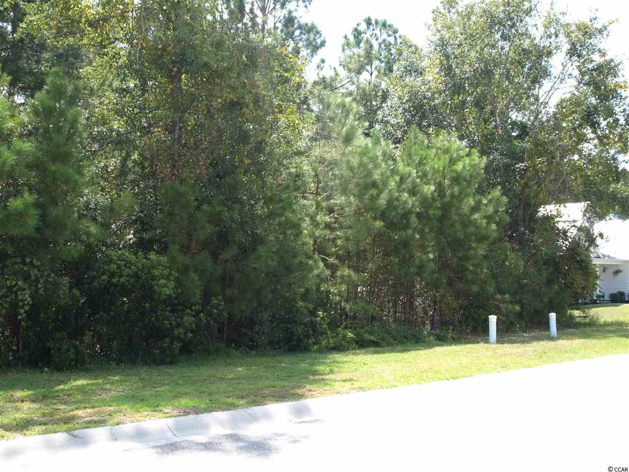 Wonderful wooded lot in Little River neighborhood that backs up to private green space and has plenty of room to build -- 70X220. This up and coming neighborhood has seen a great increase in building activity -- there is no time frame to build and you can choose your own builder !