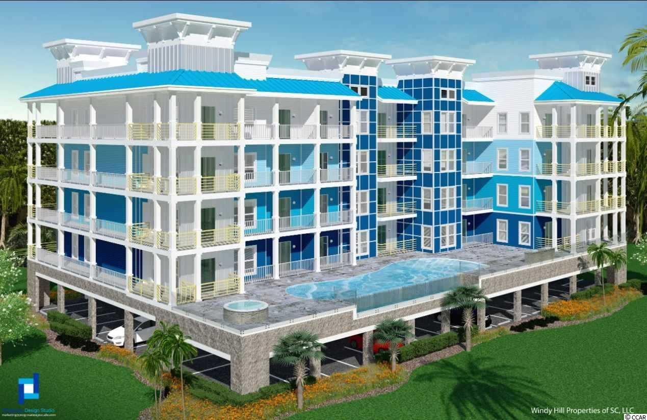 1BR/2BA 1ST floor family suite to begin construction early 2019. The Sapphire, a unique 2nd row property built on a raised podium pool deck with glass walls with excellent ocean views. It will include a 10-person hot tub, family grilling area and luxurious large infinity pool. Additionally, The Sapphire will provide its owners with a poolside fitness center with state of the art equipment and amazing views of the ocean and pool deck to enjoy while staying fit.  The complex will also include a private, gated and covered parking garage, natural gas wherever possible to lower electric bill costs, storage bins for beach chairs and other items, and other modern amenities not found an older buildings such as ultra hi-speed Wi-Fi and streaming connections (which will allow streaming on most devices everywhere on the.)  This family suite features an extra bath and closet for overnight guest and sleeps up to 8 people property. Great investor unit with direct access to the pool from the private balcony. The goal of The Sapphire complex is to provide privacy and luxury for a handful of owners who wish to own a very special and unique place at the beach.