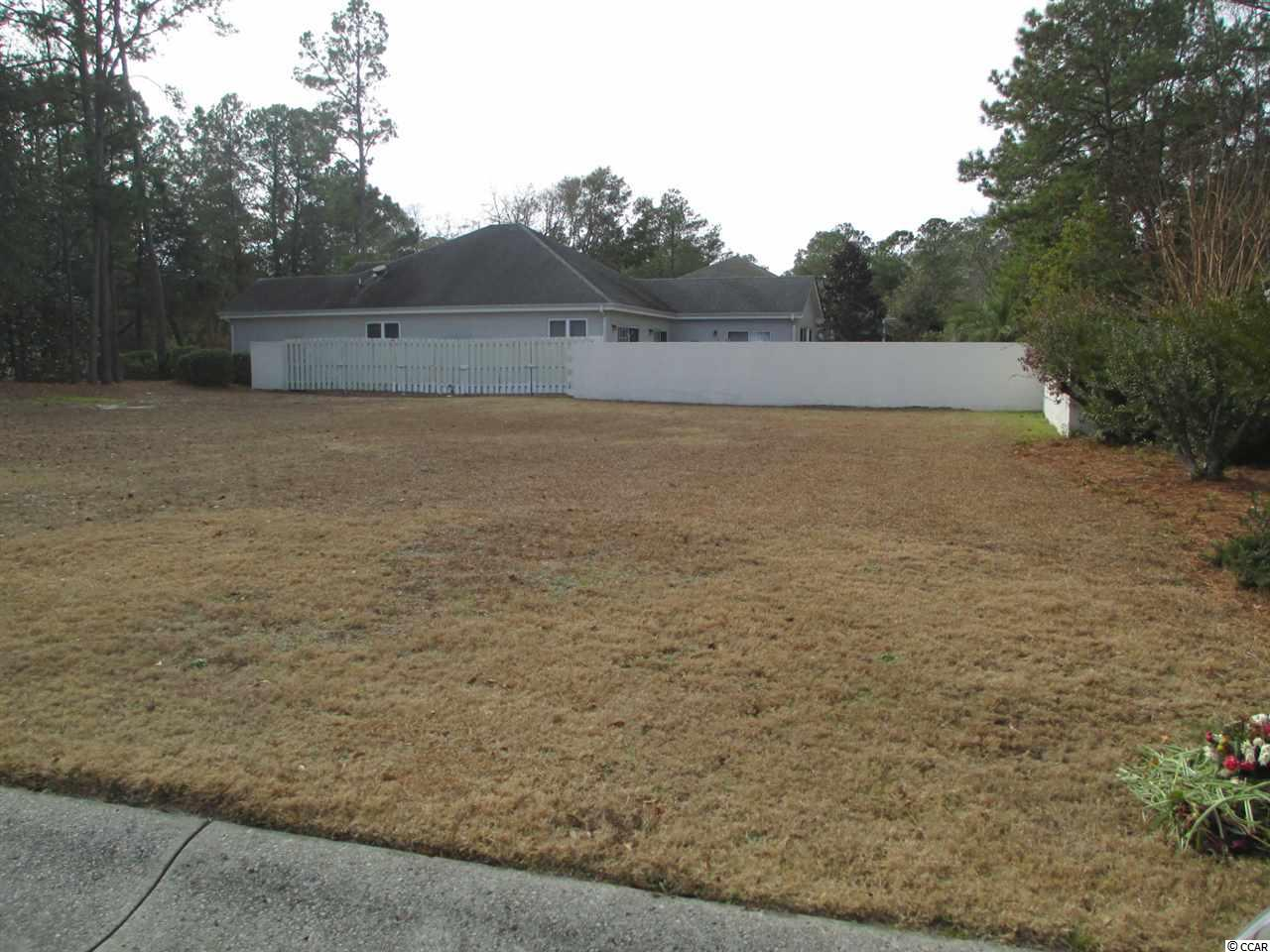 Tidewater Golf Plantation,  large corner lot in Courtyard Park of Tidewater Back yard is in closed for privacy. Enjoy all of the amenities of Tidewater, tennis, fitness center, golf, pools, restaurant and golf pro shop. Homeowners have use of private beach cabana.