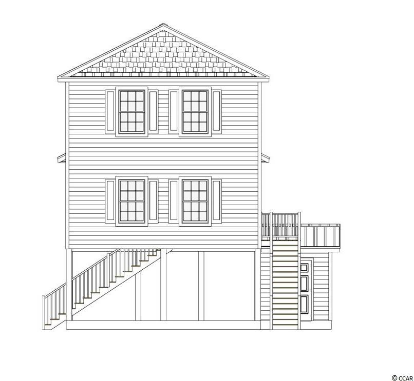 This to be built raised beach home overlooks the water on the community pond and introduces a new floor plan featuring a large master suite on the third level. The Osprey is a 3 bed/3 bath home with an open floor plan and just 5 minutes from the beach in a natural gas community with its own marina! Photos are of the current model home and are used as examples of what the home will look like. Features include double master suites, open floor plan with vaulted ceilings, well appointed kitchen with center island, granite, shaker style cabinets with soft close doors & drawers, and stainless steel appliances. Exterior features include hardie plank siding, metal roof, tankless hot water heater, and 2 exterior storage rooms. All of these features are standard items at Grande Harbour so no long price list of upgrade costs here. Your dream of owning a new home close to the beach in a quiet community for a great price just came true! The landscaping, yard maintenance, irrigation, pool, covered picnic area with gas grill, even basic cable, internet, telephone, and security system with basic monitoring is all included in your HOA dues!