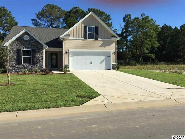 Emerald  Model Home Has 3 Br 2 Ba on the main floor, includes a 4th bedroom, walk in closet and full bath upstairs in bonus room. This model has almost 1900 square feet of living space!! Oversee family room from the kitchen for easy entertaining. Granite counter tops, cabinets with crown molding trim, Stainless steel appliances and a pantry are some of the features in this kitchen. Relax as you sit on your covered rear porch with access through Sliding glass doors from either the dining area or the master bedroom. Cathedral ceilings in every bedroom & family room, ceiling fans included. Garage is finished with paint & trim, garage door opener included and much more!! Stone included on custom designed front..