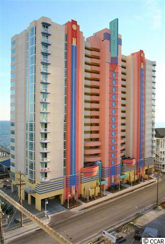 Amazing 2BR/2BA mid-level OCEANFRONT unit. This unit features upgraded furnishings with a king bed, 2 full beds, pull out sofa, leather couch, and modern lighting. Fantastic views from this perfectly sized balcony overlooking the Cherry Grove pier and oceanfront.  Amenities include: oceanfront pool, kiddie pool, (2) hot tubs, Tower II across the street has a rooftop pool, lazy river and (2) hot tubs with beautiful ocean views, state of the art fitness room overlooking the Cherry Grove marsh with weight and cardio equipment. This unit will not last long at this great price. Schedule a showing to see it today.