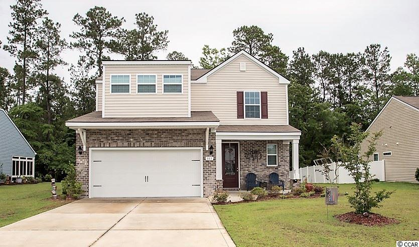Charming 4BR-2.1BA in Carolina Crossing, Little River. This home features an open floor plan with plenty of natural light and a screened back porch. The kitchen has granite counter tops, stainless steel appliances, pantry, breakfast bar and plenty of counter work space. The master suite has a tray ceiling, with ceiling fan, separate double sinks & over sized shower. HOA includes lawn maintenance. Make an appointment to see this home today!