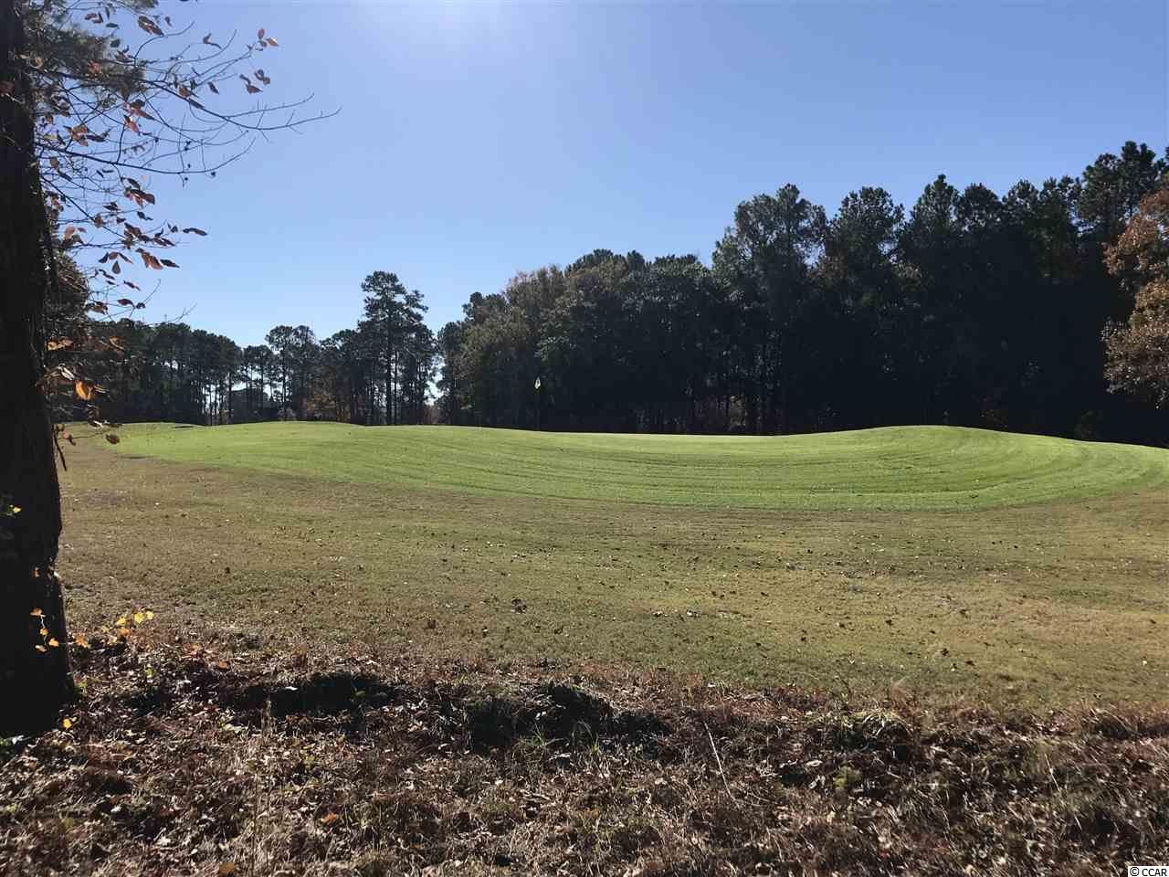 PRICE REDUCED! Premium GOLF COURSE building lot in Little River, SC.  Once hand-picked and owned by the developer of this beautiful golf club, this ESTATE-sized lot is located on the 8TH GREEN of River Hills Golf & Country Club.  Build your custom home on this elevated home site and watch the birdies roll into the cup from your screened porch.  No timeframe to build and choose your own custom builder.  Golf club membership packages available.  Neighborhood is located off Highway 17 in Little River with convenient access to shopping, restaurants, and beaches.