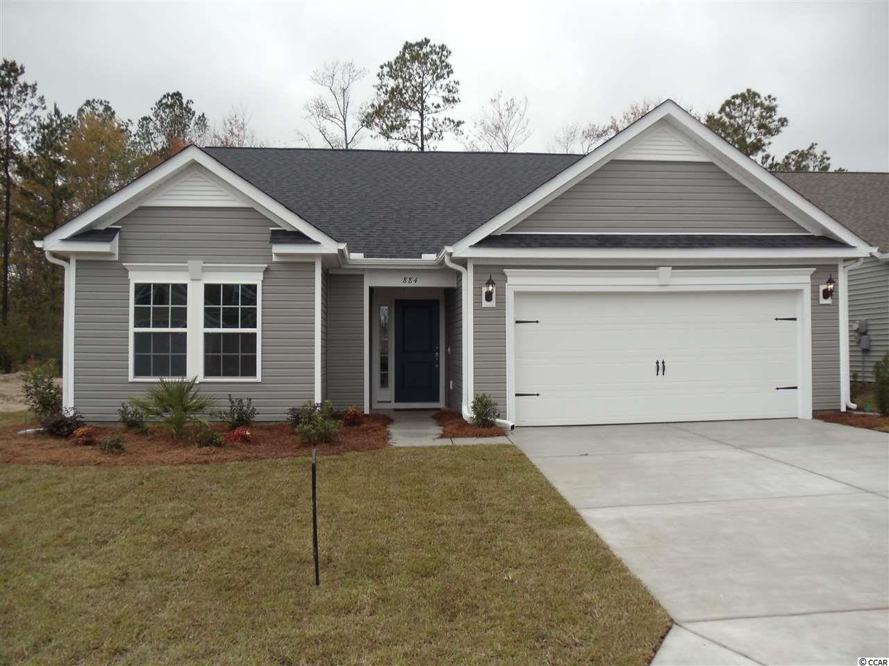 Move-In Ready Dogwood Floorplan. Features include Covered Porch, Irrigation System, Nature Preserve Home Site & Stainless Appliances w/ Natural Gas Range. Community is just 10 Minutes to beach, close to Hwy. 31 but tucked away from all the traffic and hustle of NMB. Come out and tour my New Model and Pool/Clubhouse Amenity.