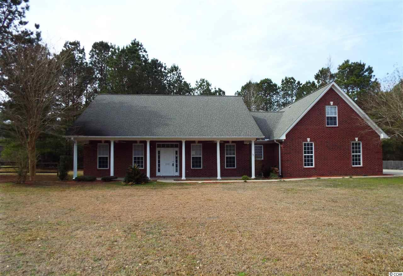 Custom brick home in a great country setting with over 5 acres of woods and open areas. Recently renovated with new paint, carpet and laminate flooring. 2 new HVAC units are included. The interior features large island in kitchen with oversized drawers, kitchen nook, formal dining room, 1st floor master suite with walk in closet, double sinks, pocket doors, additional 1st floor bedrooms. The 2nd floor level includes a bedroom and bath and bonus room perfect for game room, recreation or extra bedroom.  A detached storage building with garage door is ideal for storing lawn equipment. So much to offer with this beautiful home and acreage. Take a look today! All data including sq. ft. is approximate and not guaranteed by seller or listing agency.