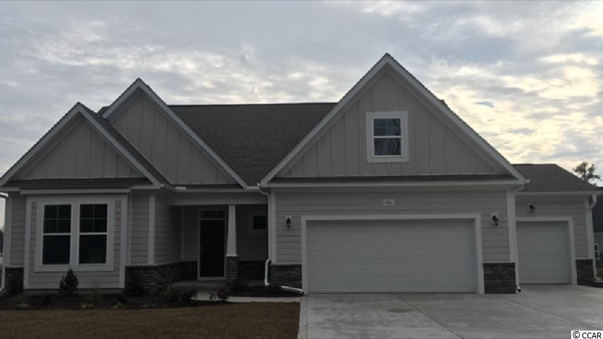 """Ready in 2018!! This popular Wrightsville home will have a 3rd car garage!! This home sits on a large home site in the popular Shaftesbury Estates neighborhood. Enjoy the view down the length of the large pond from either the Bay window area in the Dining nook or the Master bedroom. This home has a Study with French Doors, as well as a large Rec Room, in addition to the included 3 bedrooms. Buyers will also love the All-tile shower in the Master Bath. 5"""" Laminate floors will cover the main living areas, including the Study, and all Baths and Laundry will have Tile flooring. (Bedrooms and Rec Room are carpeted). The beautiful Kitchen is a must-see with a Granite countertop and 6"""" diagonal tile Backsplash. The Covered Front and Rear porches are the perfect outdoor space to entertain or simply relax. Stop by today and see this gorgeous home! Don't forget, homeowners can enjoy Free Greens Fees for Life at Shaftesbury Glen Golf Course!"""