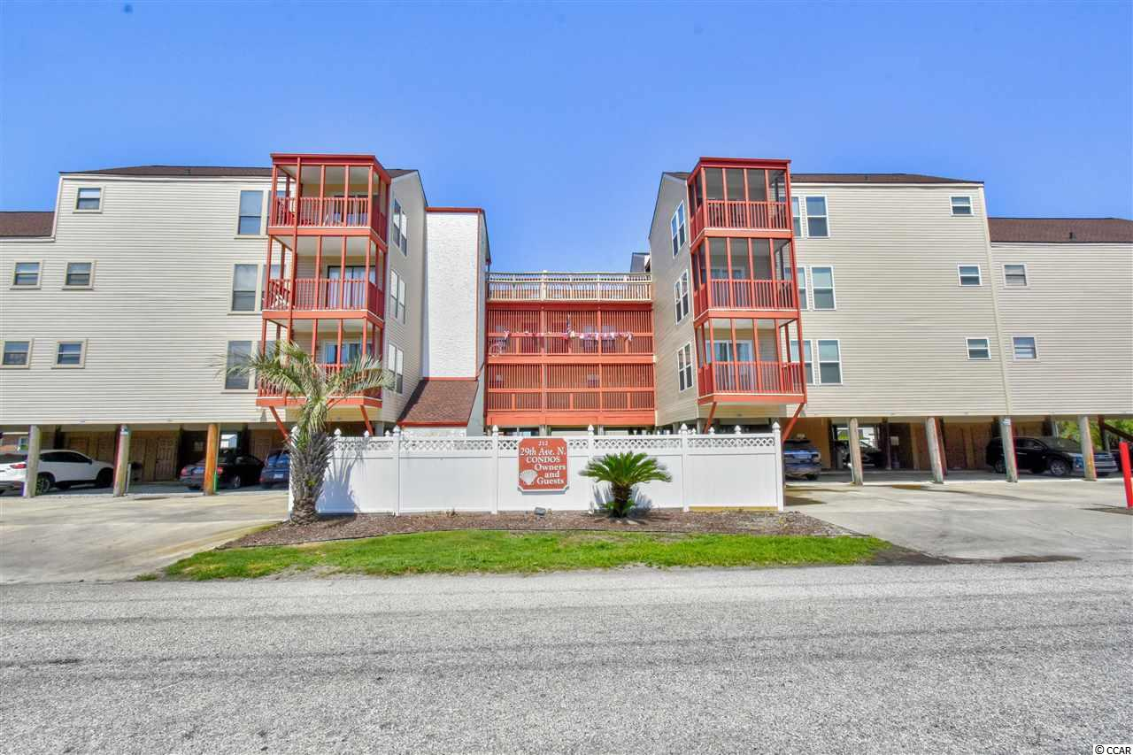 Located within walking distance to the beach, this 2 bed 2 bath condo is in the popular Ocean's Edge community of Cherry Grove! Sit outside on your private balcony and enjoy those quiet evenings. This will make a perfect investment property or your very own place at at beach! Conveniently located Cherry Grove Fishing Pier, dining & entertainment, shopping, area attractions, golf courses and so much more!