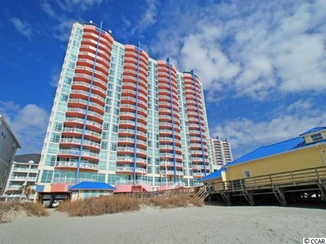 Charming 1 bed, 1 bath end unit with floor to ceiling windows overlooking beautiful Cherry Grove Beach! Enjoy sunset views on your private balcony. A luxury few units are fortunate enough to have!   All measurements are approximate and should be verified by the buyer.