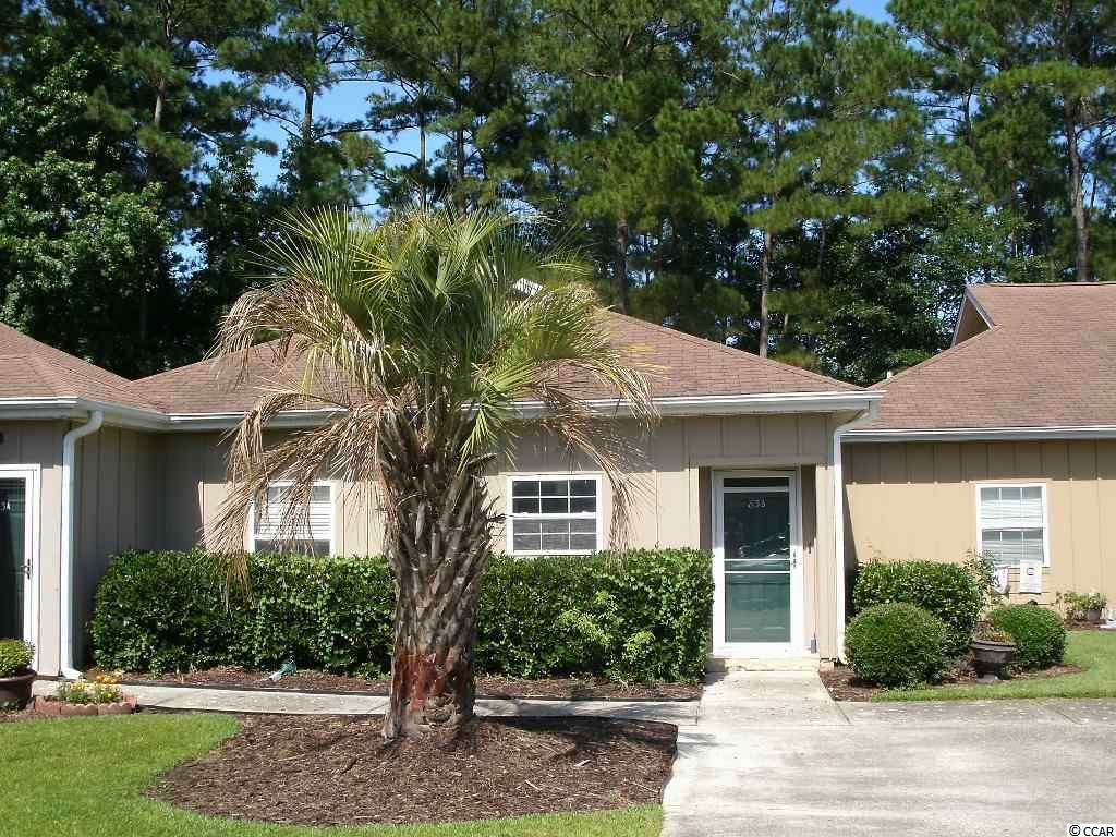 Affordable single-level living in Pawleys Retreat. Live the Pawleys lifestyle year round or just part-time. Two bedroom, two bath condo boasts solid surface flooring throughout common areas. Screened porch has private wooded setting. Enjoy close proximity to great local shops and restaurants as well as to the public boat launches on the Waccamaw River and the finest beaches along the East Coast. Boat storage provided under POA. Basic cable, landscaping and trash removal covered by HOA.