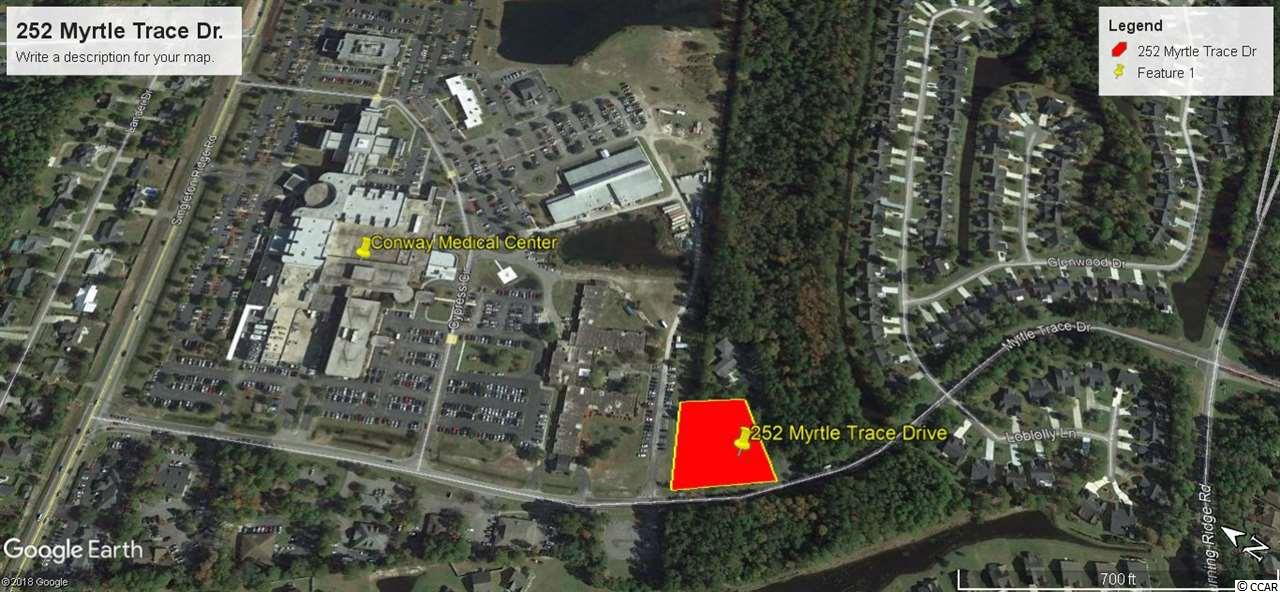 Commercial lot adjacent to Conway Medical Center. Zoned Office Professional, excellent location for Medical Office.