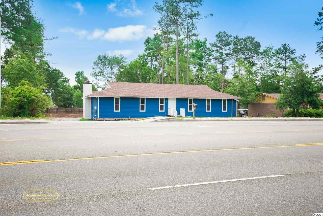 Owner Financing!! Highway Commercial property with .5 acres with so much potential! Completely remodeled property shows like brand new! Over 50 trees were taken down to make room for parking or large storage building to accommodate your new business. Don't miss this rare oportunity on busy HW 544