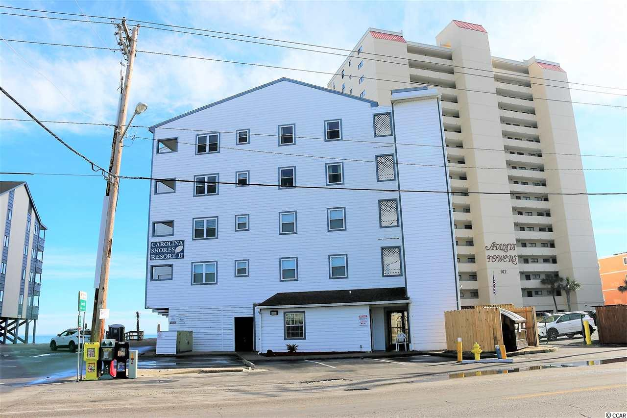 OCEANFRONT, NOT A SIDE VIEW! This condo is ready to go! Good rental history with Garden City Realty. Well maintained; entire building re-plumbed 2012+-, the elevator was new in 2012+- and the hardi-plank siding was installed 2012+-. Enjoy the sights and sounds of crashing waves as you relax on the balcony of this ocean view getaway. Bring your favorite book and bathing suit and relax in this one bedroom/one bath totally affordable condo. This a well run building that has all the amenities; ocean-side pool and elevator are major pluses. Easy to see out of season. A must see today! Call for additional information.