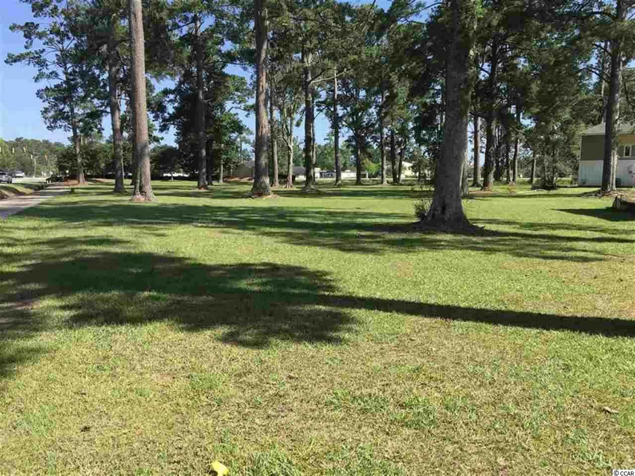 Opportunity to own land in the heart of Myrtle Beach.